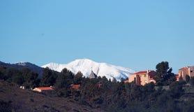 Montanhas de Canigou no francês Catalonia Fotografia de Stock Royalty Free