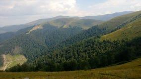 Montanhas de Carpathians Imagem de Stock Royalty Free