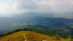 Montanhas de Carpathians Foto de Stock Royalty Free