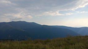 Montanhas de Carpathians Fotos de Stock