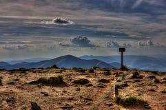 Montanhas de Carpathians Imagens de Stock