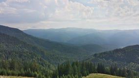 Montanhas de Carpatian Fotografia de Stock Royalty Free