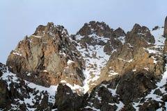 Montanhas de Cazaquistão Fotos de Stock