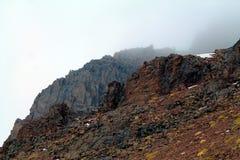 Montanhas de Cazaquistão Imagem de Stock