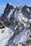 Montanhas de Chamonix Imagem de Stock