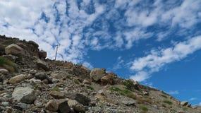 Montanhas de Chilas Imagens de Stock