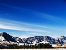 Montanhas de Colorado fotografia de stock