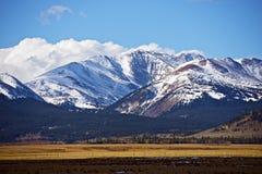 Montanhas de Colorado Imagem de Stock