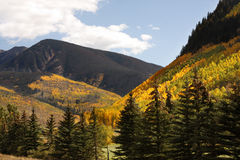 Montanhas de Colorado fotos de stock royalty free