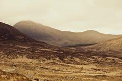 Montanhas de Connemara em Ireland na névoa Foto de Stock Royalty Free