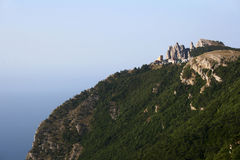 Montanhas de Crimeia Imagens de Stock Royalty Free