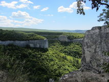 Montanhas de Crimeia Imagem de Stock