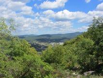 Montanhas de Crimeia Foto de Stock