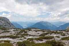 Montanhas de Dachstein Fotos de Stock Royalty Free