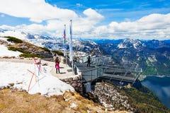 Montanhas de Dachstein em Áustria Imagem de Stock