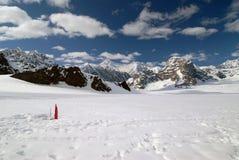 Montanhas de Denali Alaska Fotos de Stock Royalty Free