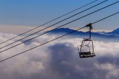Montanhas de Deogyusan Fotografia de Stock
