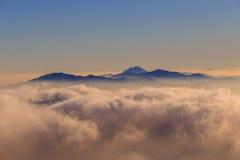 Montanhas de Deogyusan Imagens de Stock Royalty Free