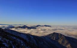 Montanhas de Deogyusan Imagens de Stock