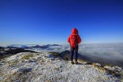 Montanhas de Deogyusan Fotos de Stock