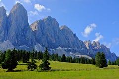 Montanhas de Dolomiti Imagem de Stock Royalty Free