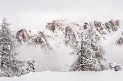 Montanhas de Dolomiti Fotos de Stock
