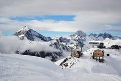 Montanhas de Dombai imagens de stock royalty free