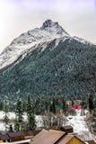 Montanhas de Dombay Fotografia de Stock