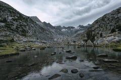Montanhas de Donohue, Yosemite NP Fotografia de Stock Royalty Free