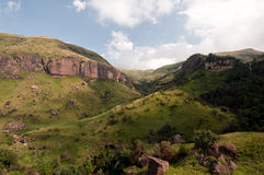 Montanhas de Drakensberg imagens de stock