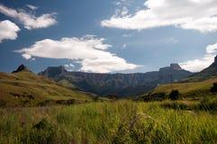 Montanhas de Drakensberg fotografia de stock