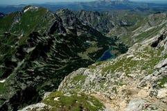 Montanhas de Durmitor, Montenegro, lago Skrcko fotografia de stock royalty free