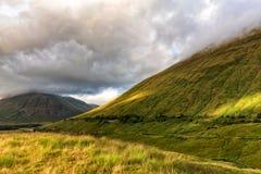 Montanhas de Escócia fotos de stock