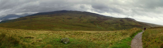 Montanhas de Escócia Fotografia de Stock Royalty Free