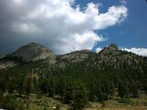 Montanhas de Estes Park Fotos de Stock Royalty Free