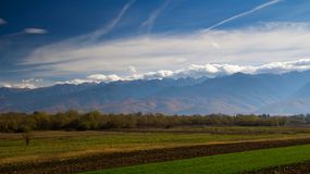 Montanhas de Fagaras Fotos de Stock