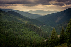 Montanhas de Fagaras Imagens de Stock Royalty Free