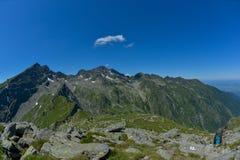 Montanhas de Fagaras Imagens de Stock