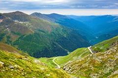 Montanhas de Fagaras em Romania Imagem de Stock