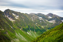 Montanhas de Fagaras em Romania Imagens de Stock Royalty Free