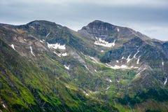 Montanhas de Fagaras em Romania Foto de Stock Royalty Free