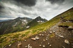 Montanhas de Fagaras em Romania Imagem de Stock Royalty Free