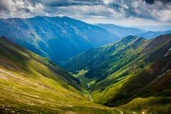 Montanhas de Fagaras em Romania Imagens de Stock