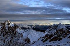 Montanhas de Garmisch Foto de Stock