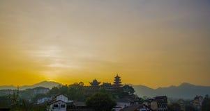 Montanhas de Gele, Sichuan Imagens de Stock Royalty Free