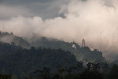 Montanhas de Genting Foto de Stock