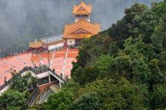 Montanhas de Genting, Malásia - 2 de novembro de 2017: Montanhas de Genting fotografia de stock royalty free