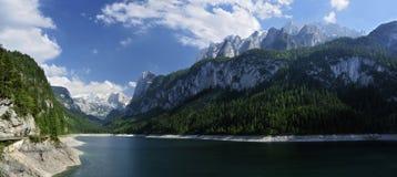 Montanhas de Gosausee & de Gosaukamm Imagem de Stock