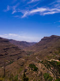 Montanhas de Gran Canaria imagem de stock