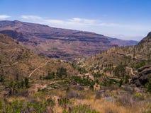 Montanhas de Gran Canaria imagem de stock royalty free